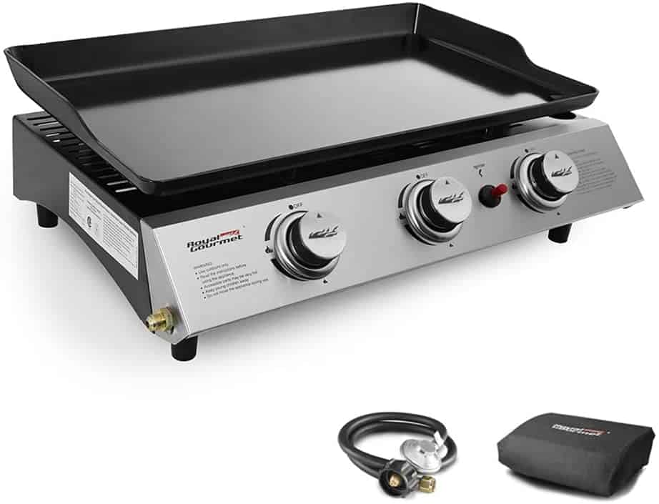 Propane Gas Grill Griddle by Royal Gourmet