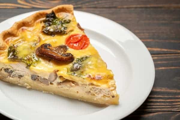 Reheat Quiche Without Burning