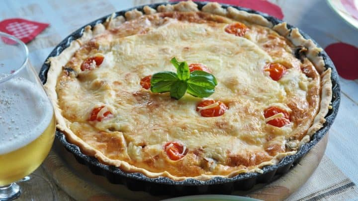 Reheat Quiche Without Drying it Out