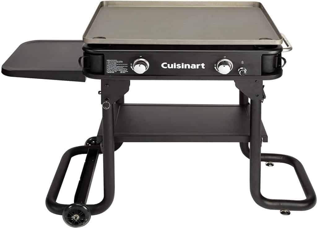 Two-Burner Propane Flat Top Griddle by Cuisinart