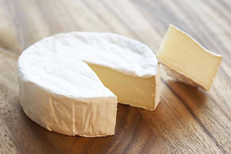 What is the Brie cheese wheel