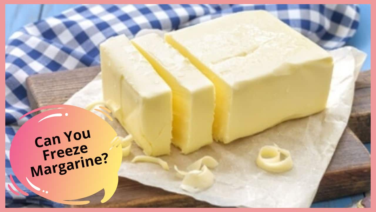 can you freeze margarine