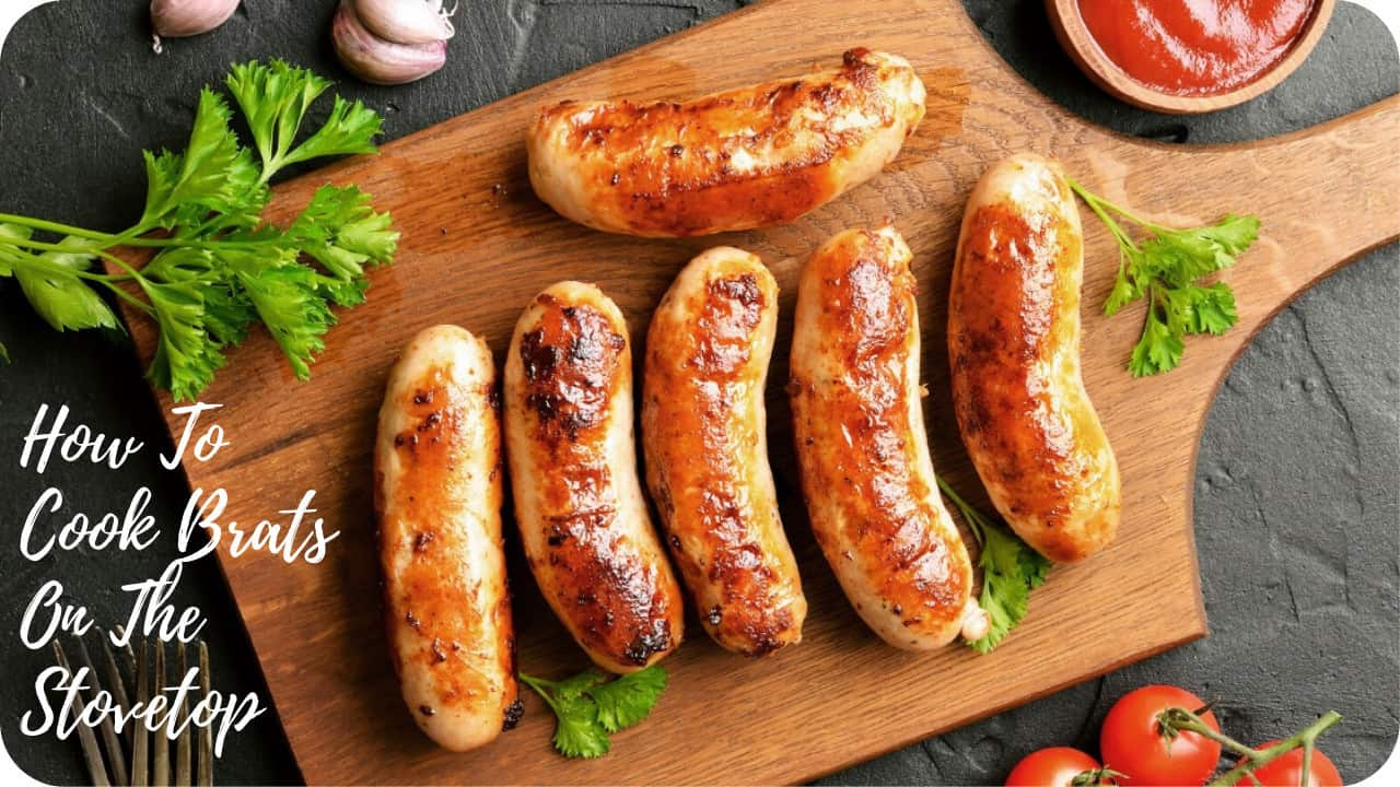 how to cook brats on the stovetop