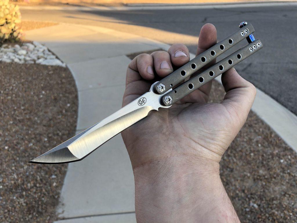 butterfly knife tricks