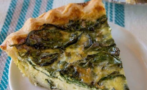 can you freeze quiche