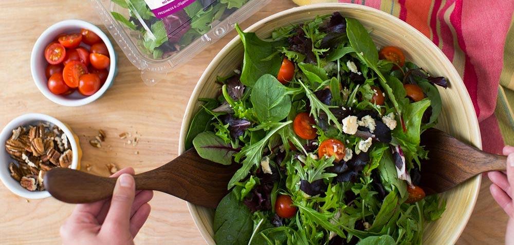 can you freeze salad mix