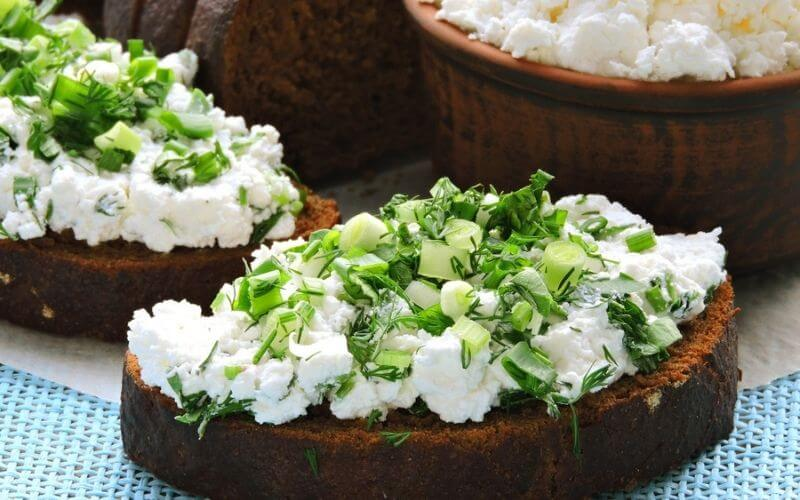 Freezing Cottage Cheese in foods