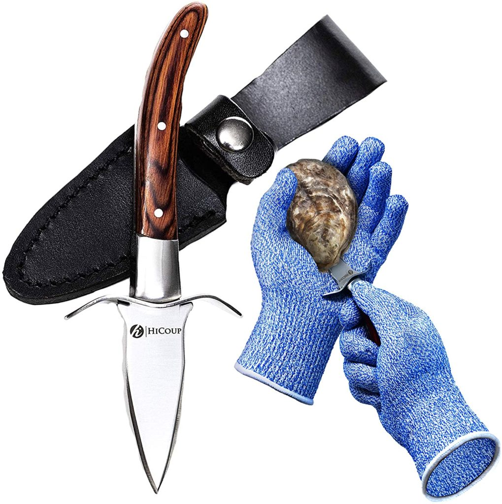 HiCoup Oyster Shucking Glove & Knife