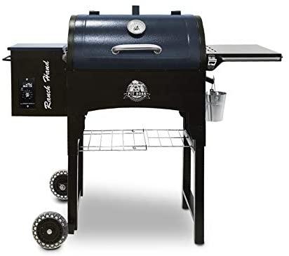 PIT BOSS PB440TGR 1 Portable Folding Legs Pellet Smoker Grill
