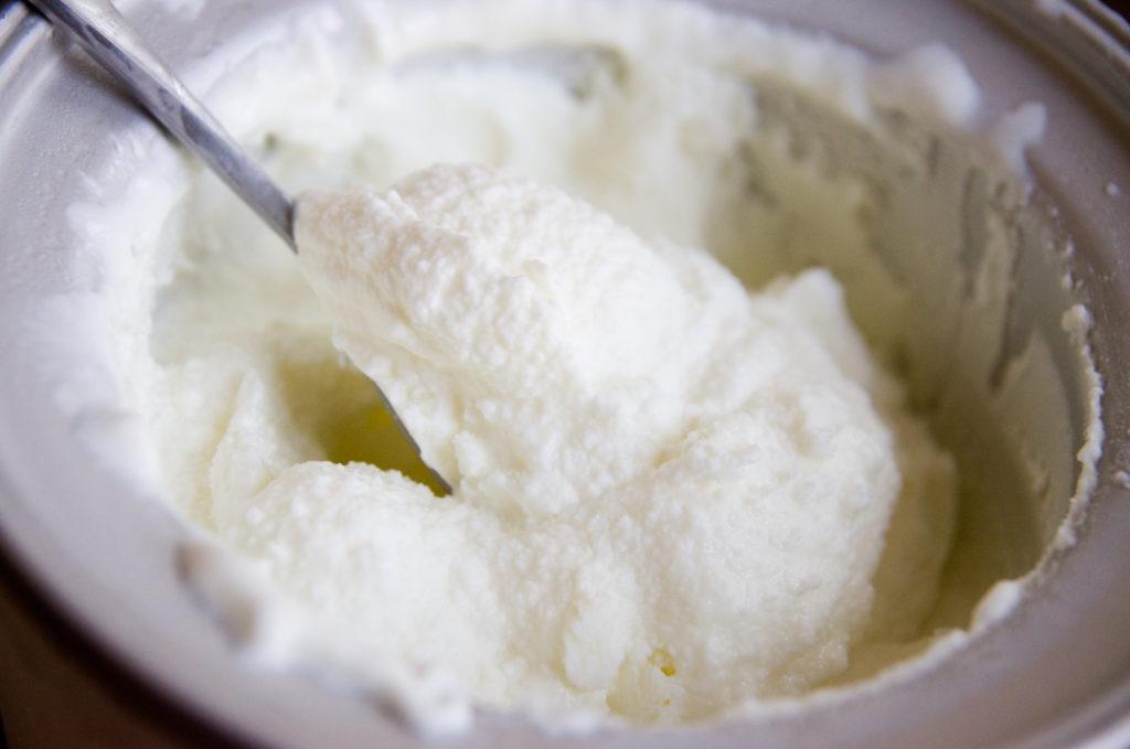 freeze Greek yogurt