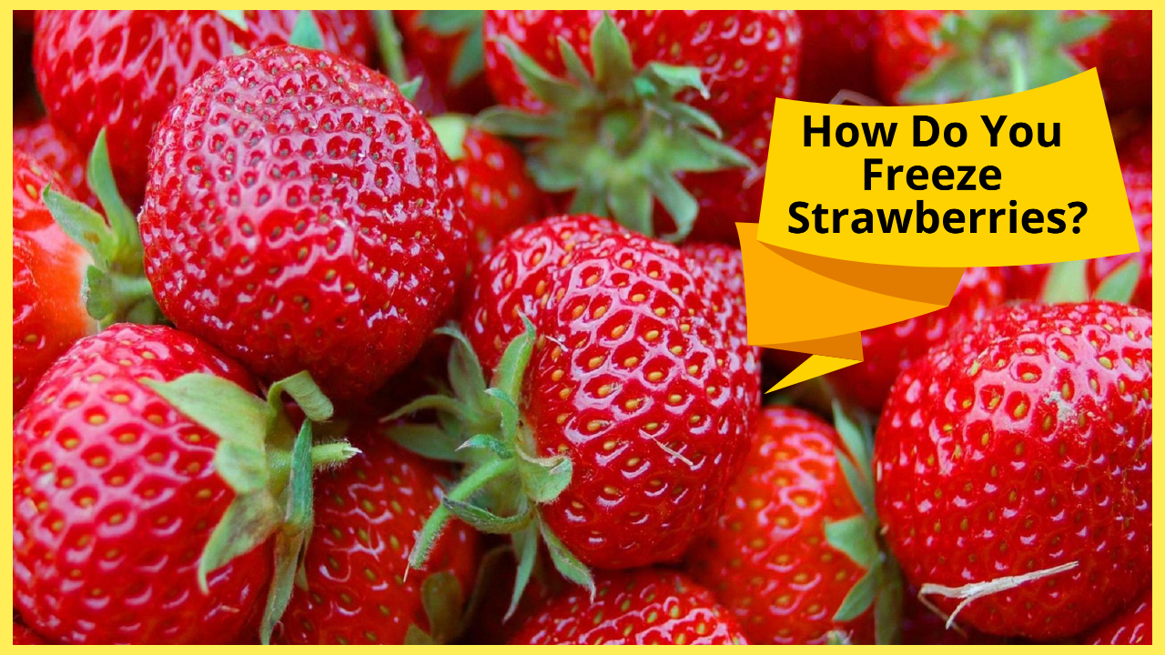 how do you freeze strawberries