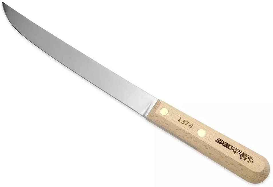 sharpen the Dexter serrated knife