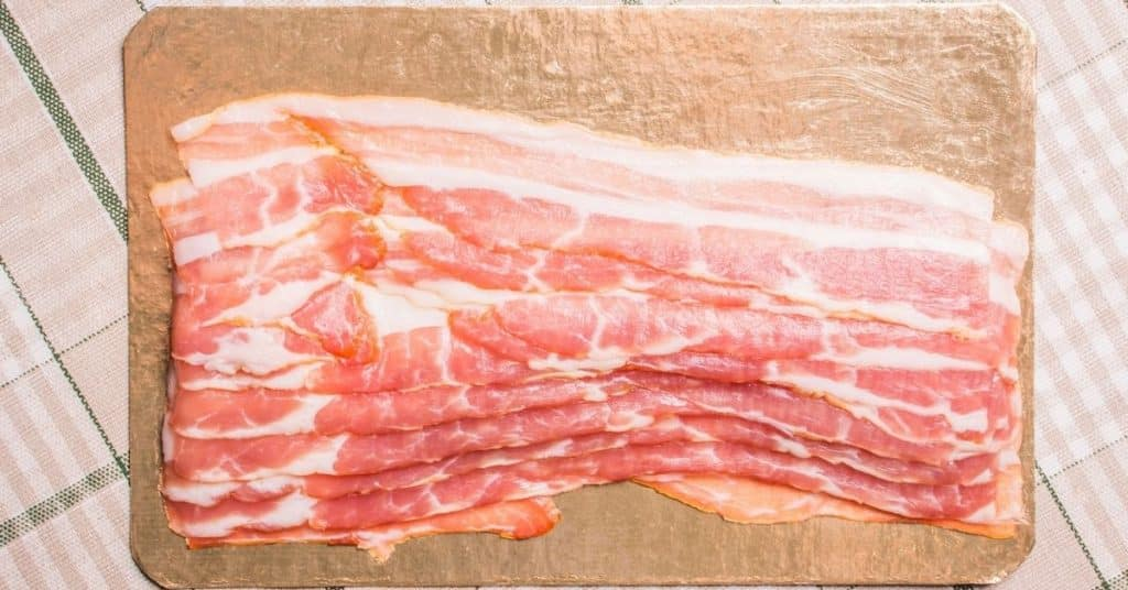 thaw frozen bacon quickly