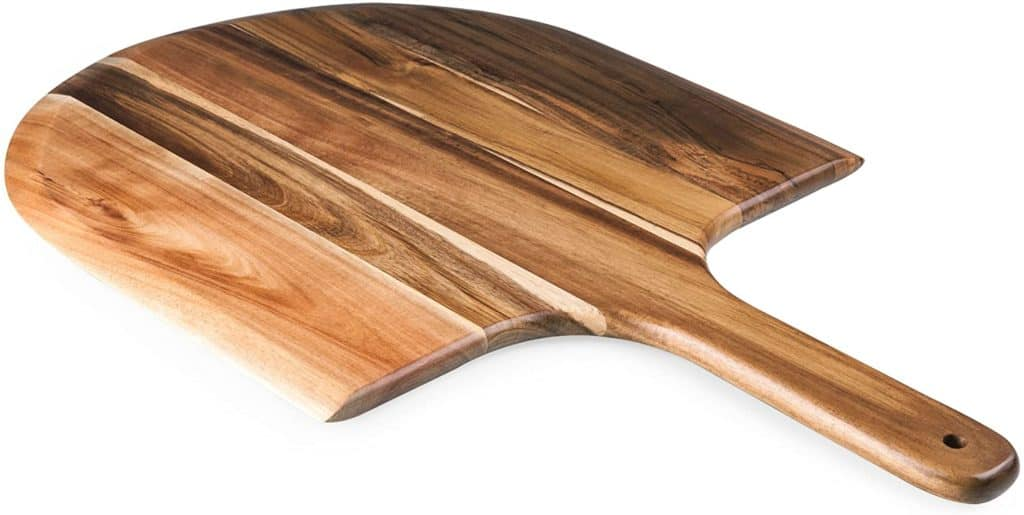 TOSCANA Wooden Best Acacia Pizza Peel Best Material For A Pizza Peel