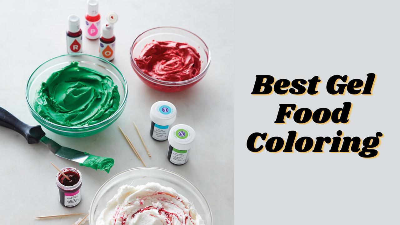 Best Gel Food Coloring