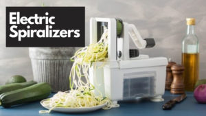 Electric Spiralizers