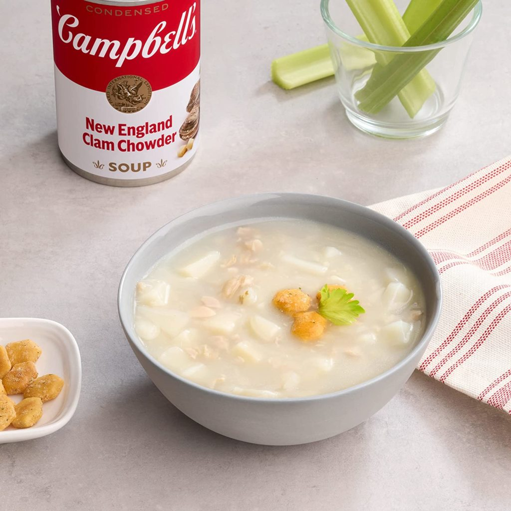 can you freeze clam chowder