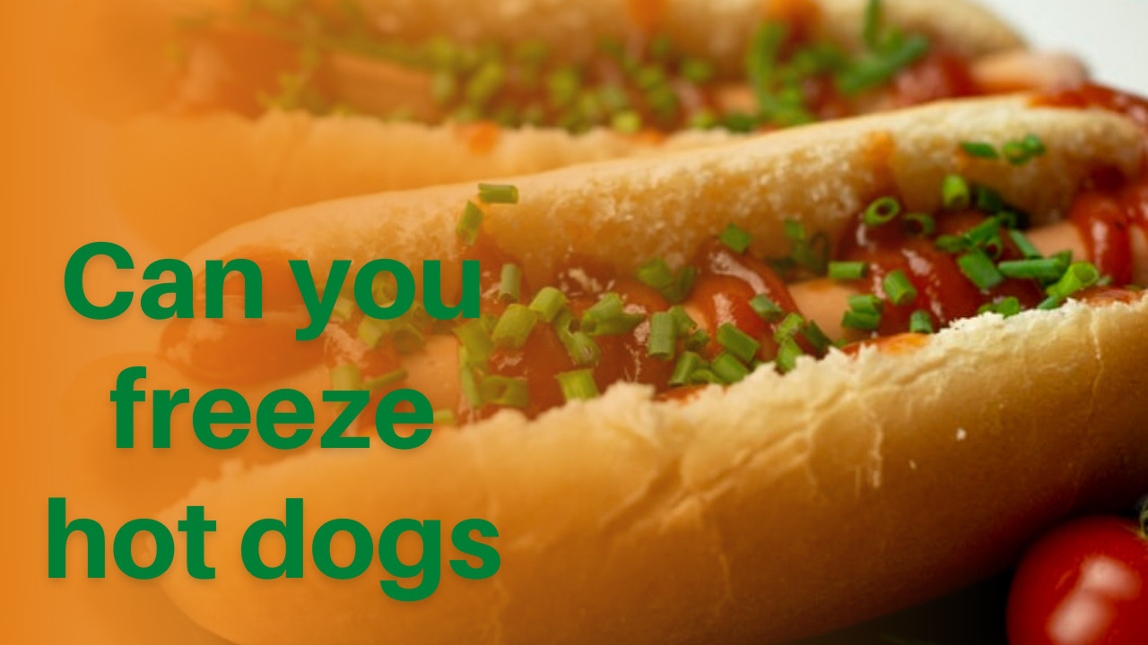 can you freeze hot dogs